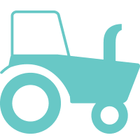 Illustration of a tractor